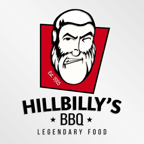 Logo for barbecue business in Las Vegas
