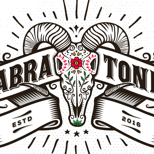 Logo proposal for Cabra Tonic.