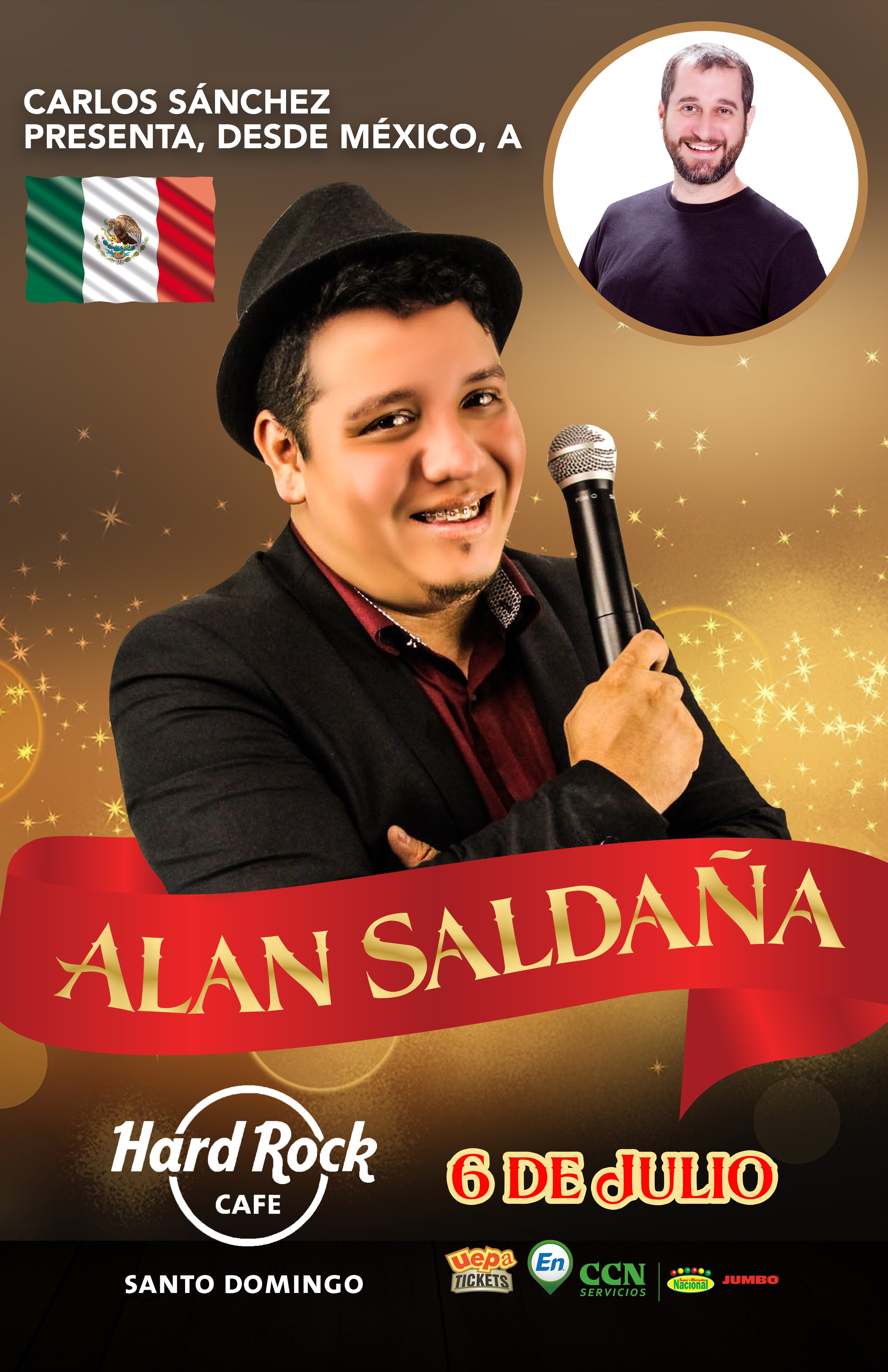 Poster for comedy show