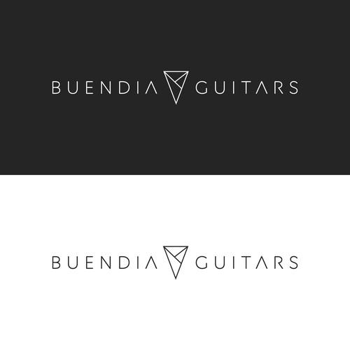 logo concept for buendia guitars