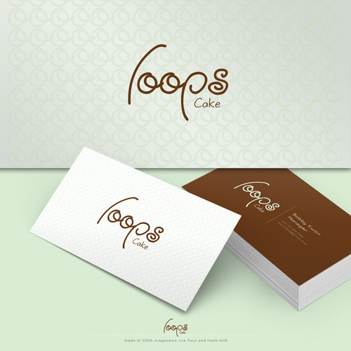 Logo concept for Baum Cake