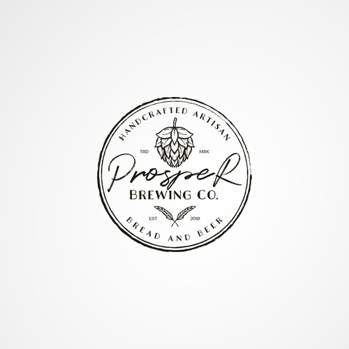 Logo Concept for Prosper Brewing co.