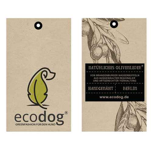 Natural label for ecodog