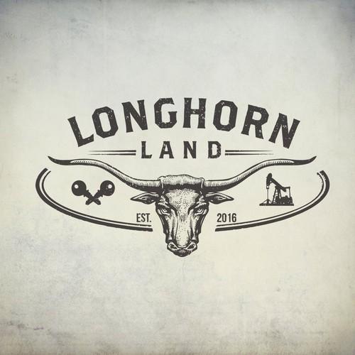 Longhorn Land Logo- FOR SALE!!!