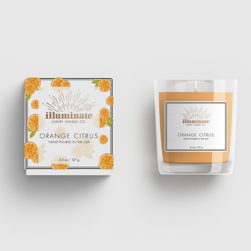 Illuminate Candle Packaging