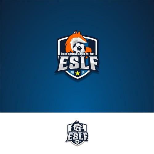 Créer un logo moderne pour un club de foot