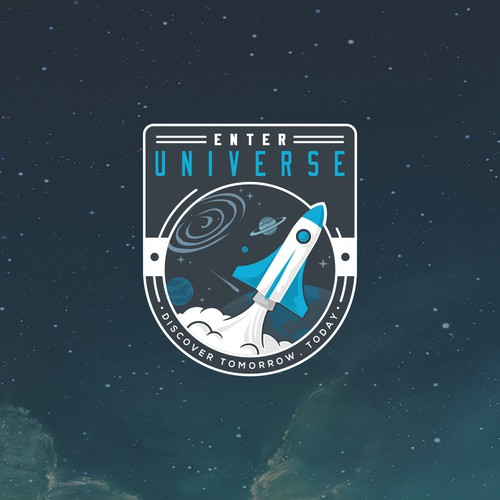 Logo Badge for Enter Universe