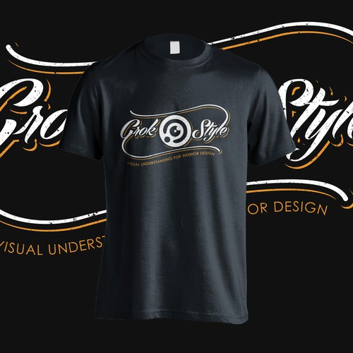 T-shirt design for visual search startup