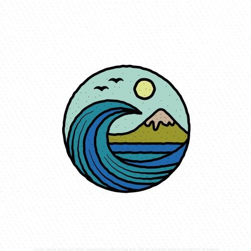 Logo design for patch