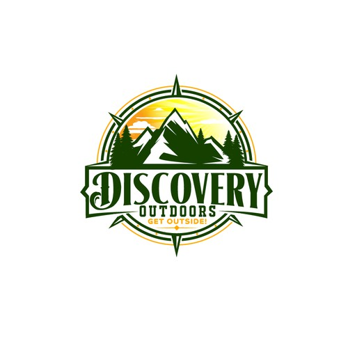 Bold logo for outdoors