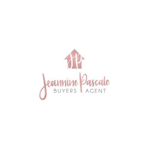 Hand lettered logo created for buyers agent