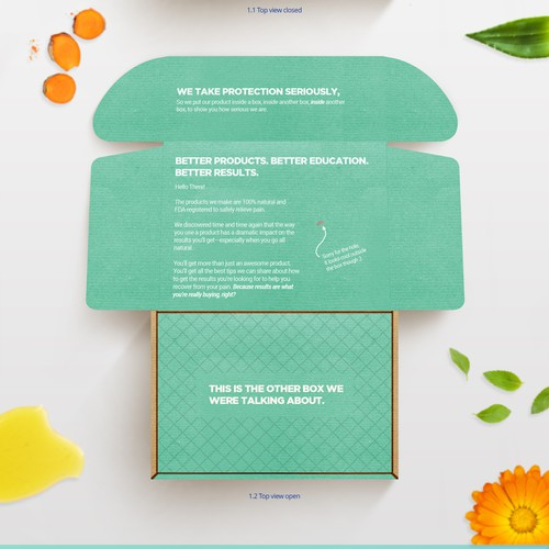 The FeelGood Lab Packaging