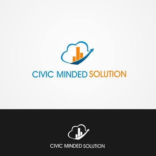 Create a logo for a digital company enhancing participatory democracy