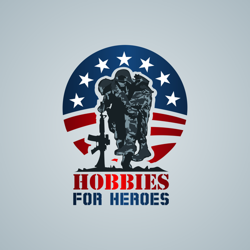 Create a logo that forces people to realize what disabled veterans have sacrificed for them.