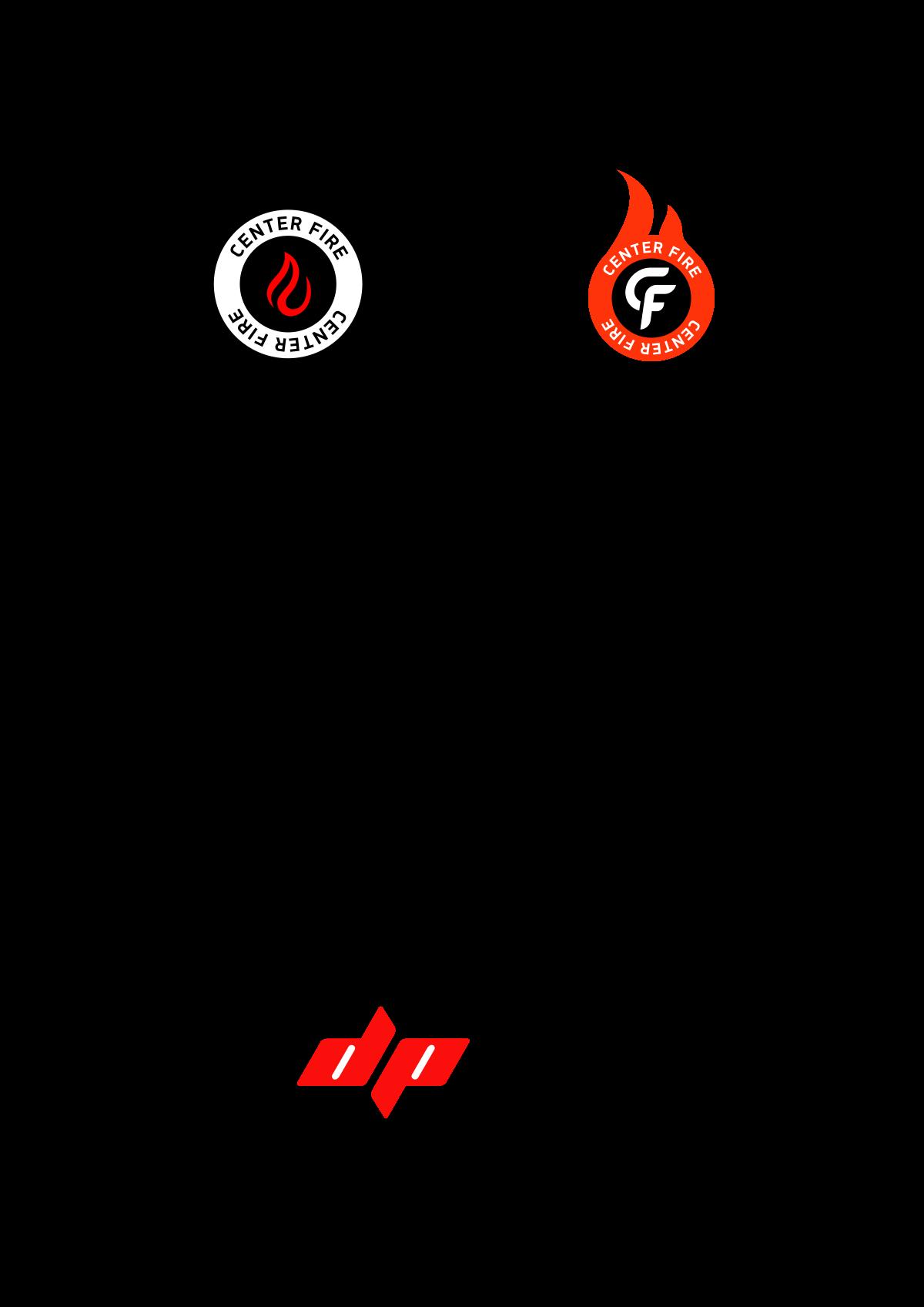 Center fire logo, enhance DP logo