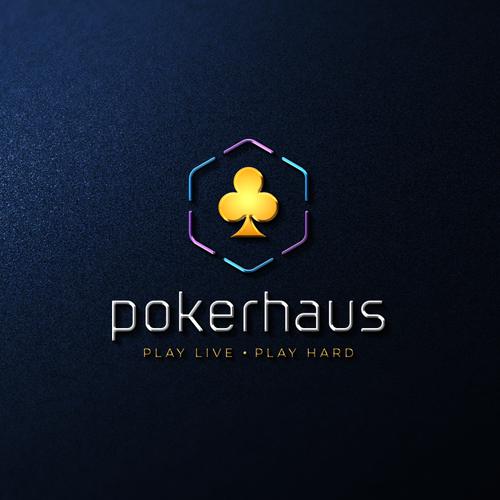 Logo and Jimdo Website for Pokerhaus
