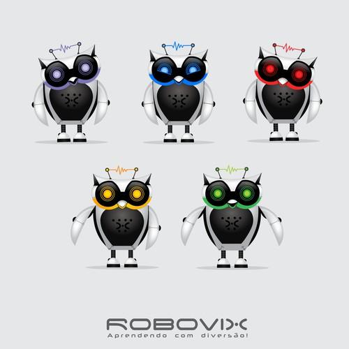 ROBOTIC COURSE - Visual Identity (Criar uma identidade visual para um CURSO DE ROBÓTICA).
