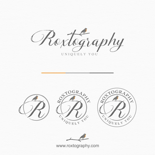 logo concept for photography company