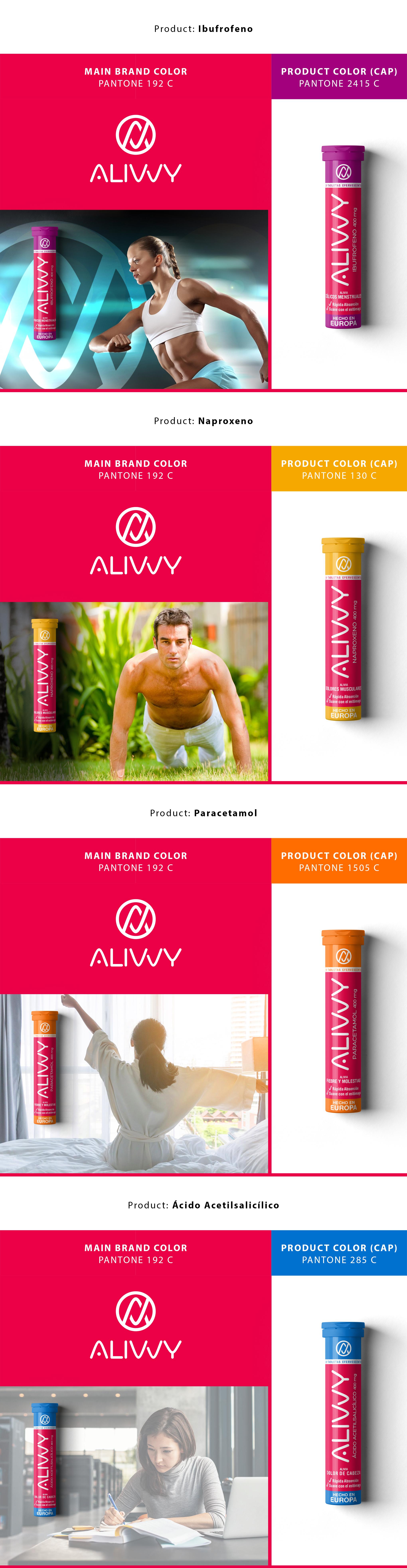 Logo + packaging for medicine effervescent tablets