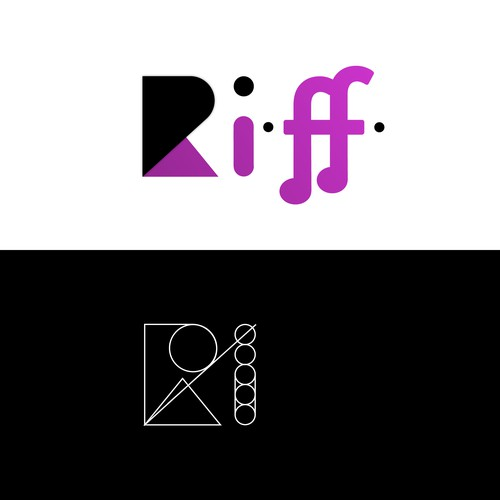 Riff logo for consumer products