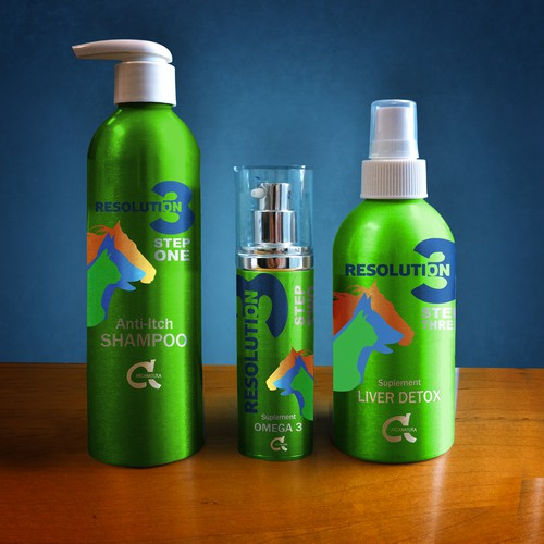 Create the next product label design for Arcanatura natural pet products