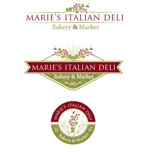 New logo wanted for Marie's Italian Deli, Bakery & Market