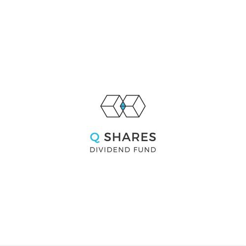 Logo concept for Q Shares