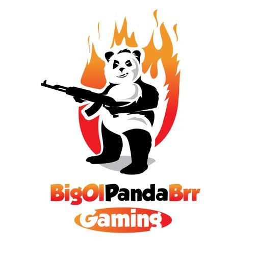 playful logo for gaming streamer