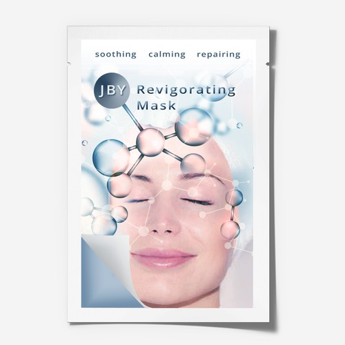 Design the Cosmetic Mask of the Future! Beauty packaging, skincare brand