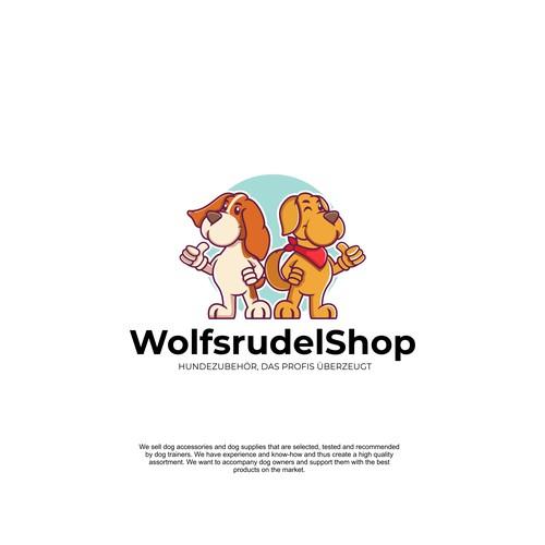 Mascot Design for Pet Shop