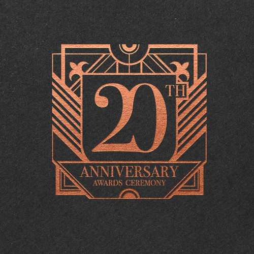 Logo for a 20th anniversary.
