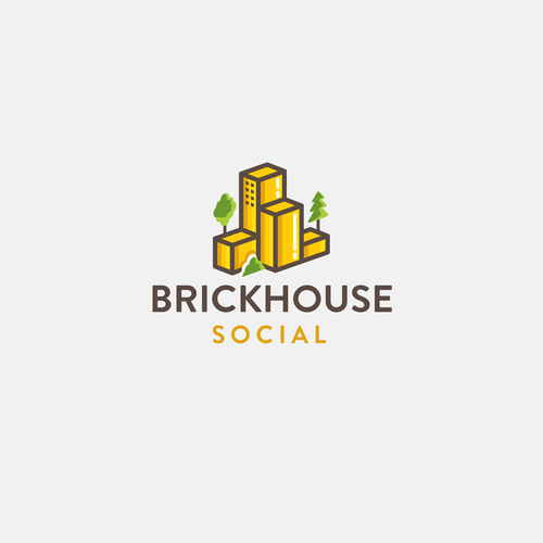 Logo concept for Brickhouse