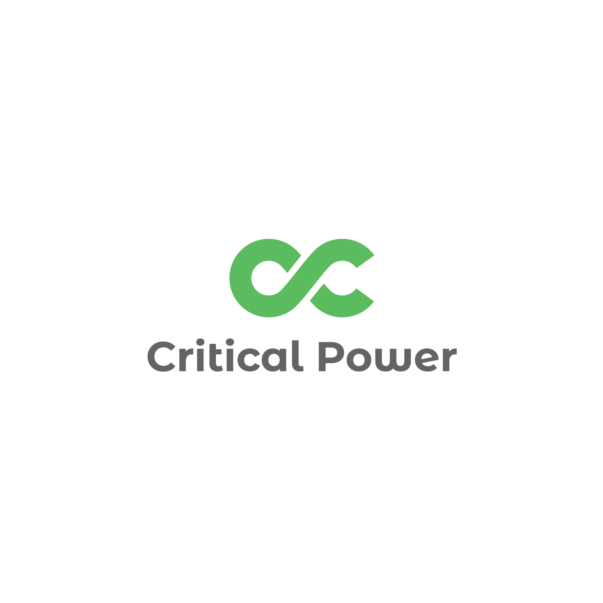 Striking logo for a critical power company.