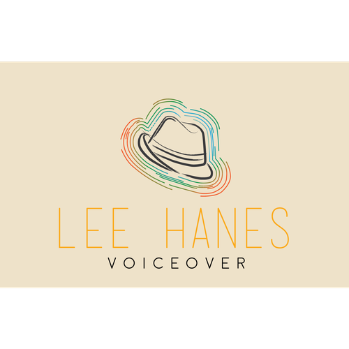 An abstract logo concept for a voice over artist.