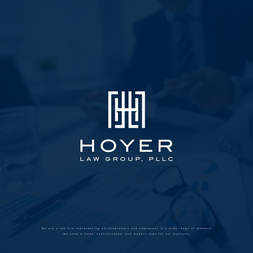 Logo Concept for Hoyer Law Group