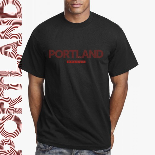 City / State T-Shirt Design