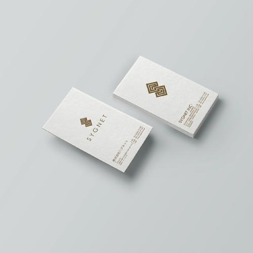SYGNET branding design