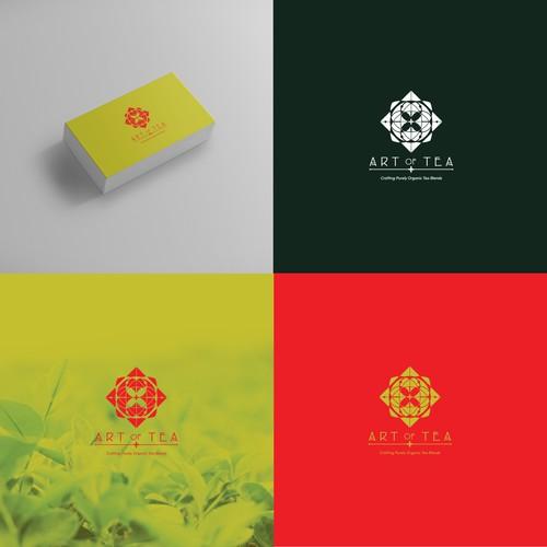 Art of Tea logo concept
