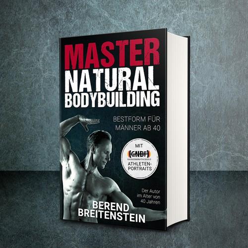 Book cover for a Natural Bodybuilding nonfiction book