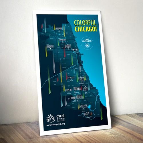 Map of Chicago Schools