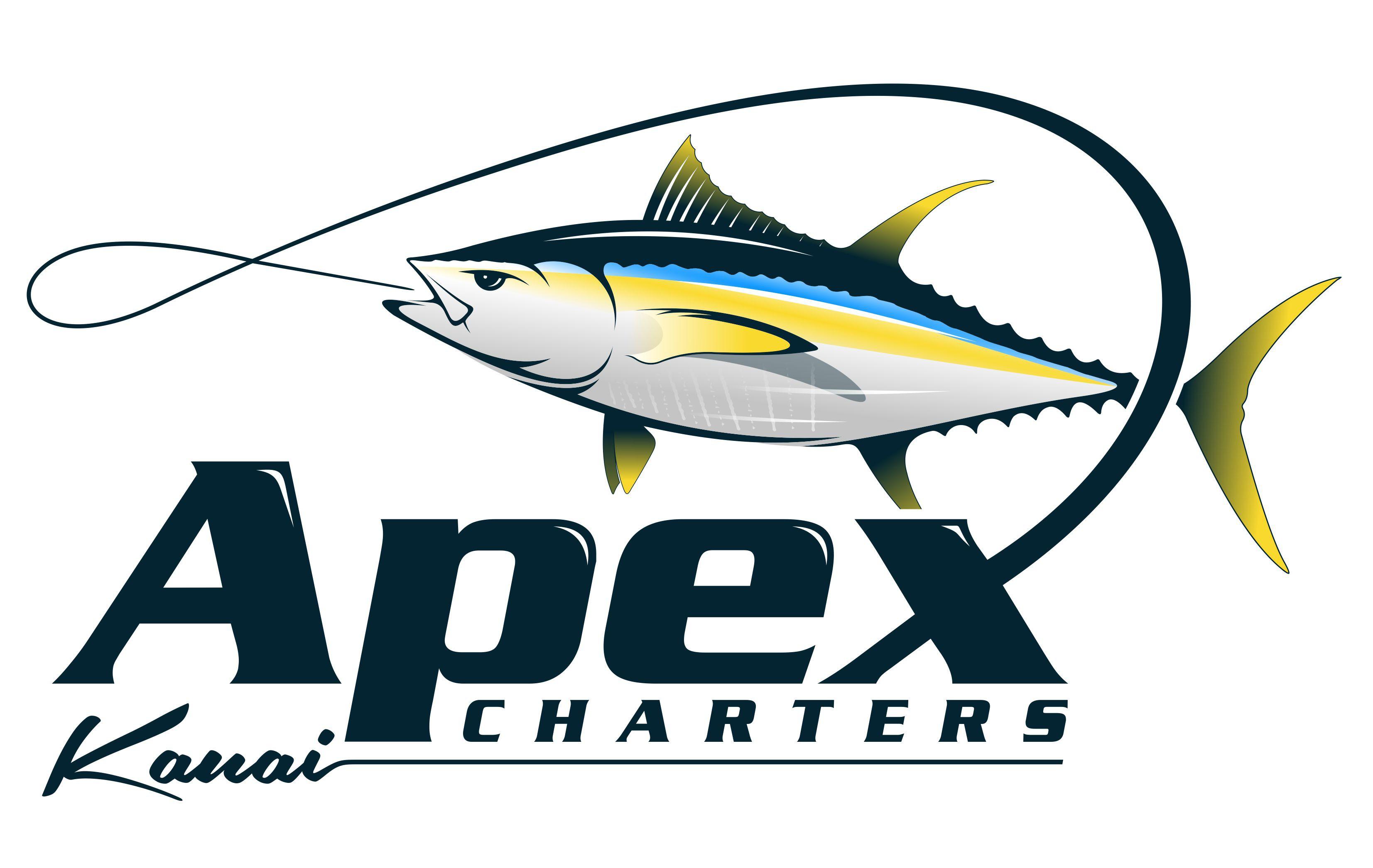 Hawaii Based Sport Fishing company seeking Bold and Memorable Logo, APEX CHARTERS, KAUAI
