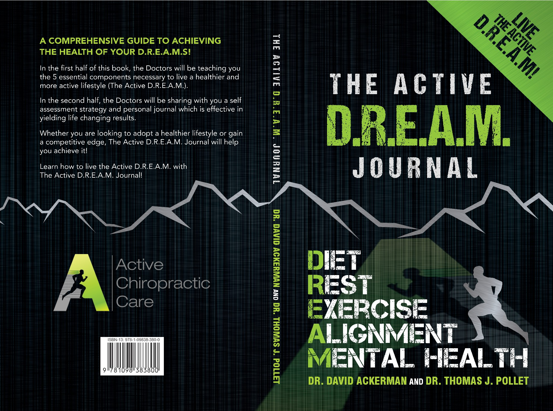 Be part of the Active D.R.E.A.M. and DESIGN our BOOK COVER!!!