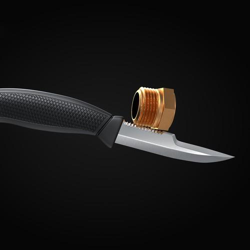knife and bolt