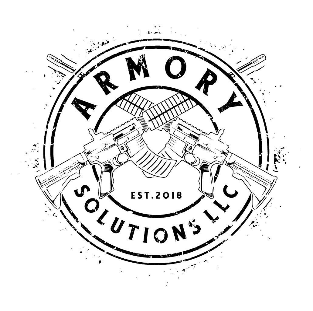 Badass t-shirt with my new logo for a firearms company. Will result in more work