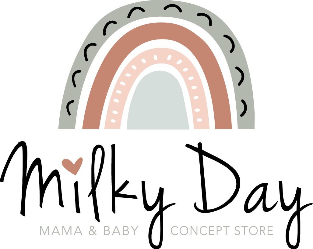 Frisches, feminines und trendiges Logo für einen Online-Shop mit Babyartikeln