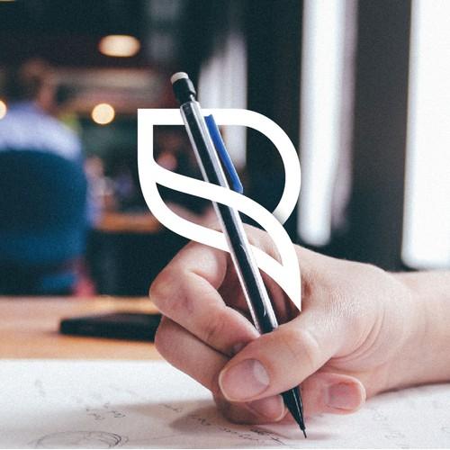 letter R + S monogram