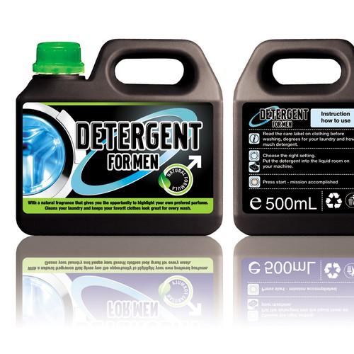 New modern detergent for men