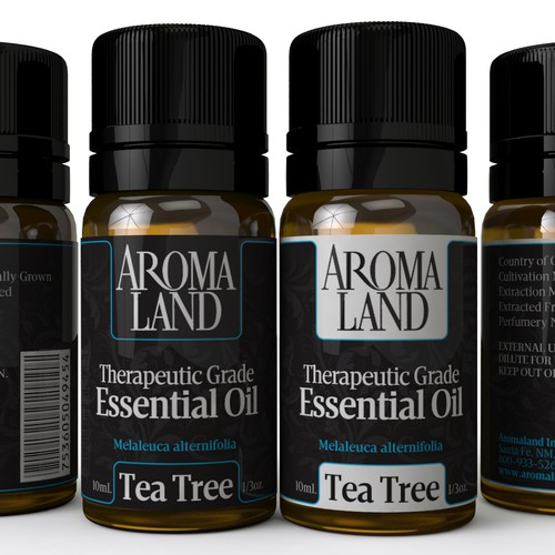 Fresh New Design for Essential Oils