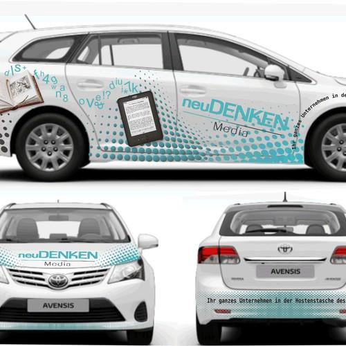 Autobeklebung vollflächig - modern, frisch und außergewöhnlich!