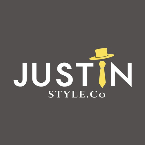 ><><>Modern, Sophisticated, Sleek Logo for Men's Apparel & Accessories Retailer JustInStyle.co<><><